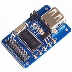 MÓDULO CH376 PARA LEER/ESCRIBIR DATOS DE UNA MEMORIA USB POR UART O PUERTO PARALELO
