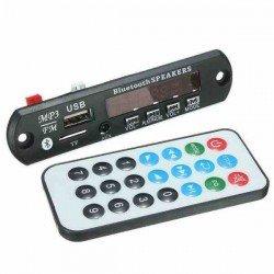 MÓDULO DE AUDIO BLUETOOTH, FM, SD, USB PARA AMPLIFICADOR