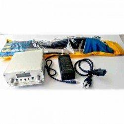 KIT: TRANSMISOR FM 15W ST-15B + ANTENA GP 1/4 + ADAPTADOR