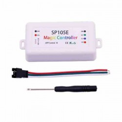 CONTROLADOR SP105E CINTA LED WS2812 BLUETOOTH IOS/ANDROID