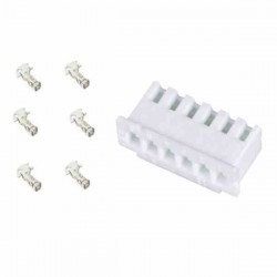 CONECTOR JST 6P HEMBRA HX2-54