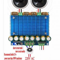 TDA8954TH AMPLIFICADOR DE AUDIO 2X420W STEREO CLASE D