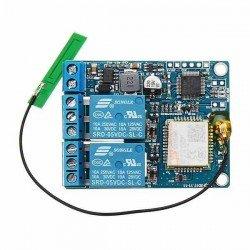 MÓDULO INTERRUPTOR RELÉ 2 CH SMS GSM CONTROLADOR SIM800C