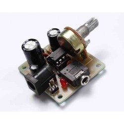 KIT MINI AMPLIFICADOR DE AUDIO LM386 PARA ENSAMBLAR