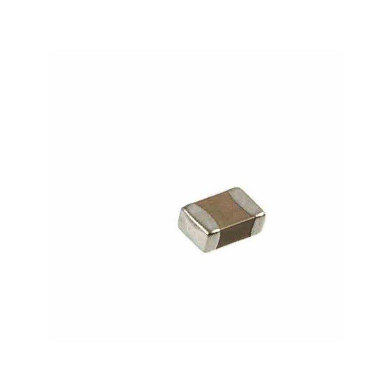 CAPACITOR 0805 50V 10% SMD CERAMICO SUPERFICIAL