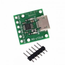 CH340E CONVERTIDOR SERIAL USB A TTL MINI 5V/3.3V