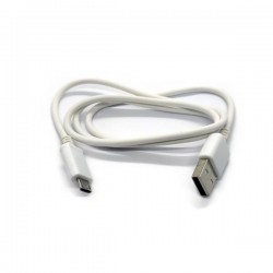 CABLE USB 80CM BLANCO