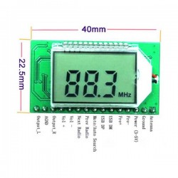 PLL LCD 87-108MHZ DIGITAL FM