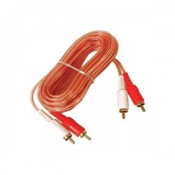 CABLES AUDIO 2 RCA X 2 RCA (2X2) LARGO 3.6 MTS
